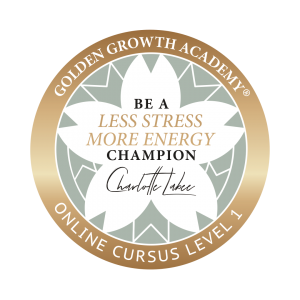 Be a less stress more energy champion level 1