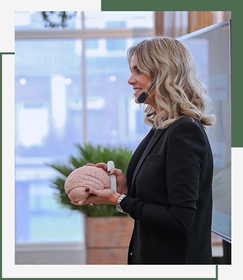Charlotte Labee en brain balance