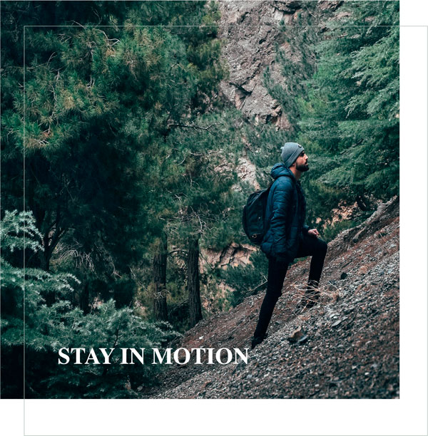 stay in motion - Charlotte Labee